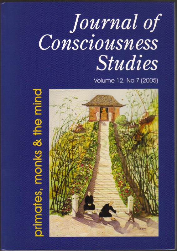 Image for Journal of Consciusness Studies: Primates, Monks & the Mind: Volume 12, No. 7