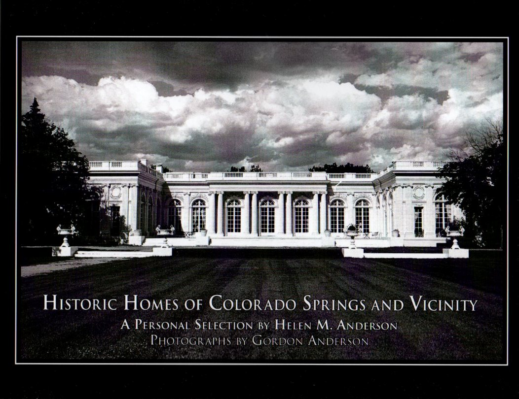 Image for Historic Homes of Colorado Springs and Vicinity