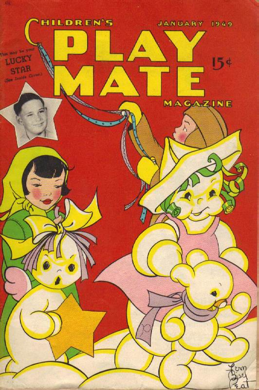Image for Children's Play Mate Magazine: Vol. 20, No.8 (January 1949)
