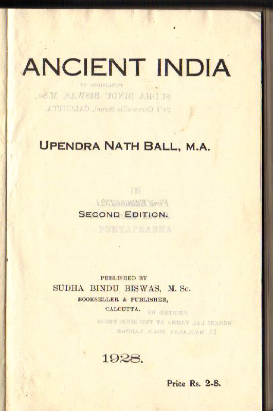 Image for Ancient India