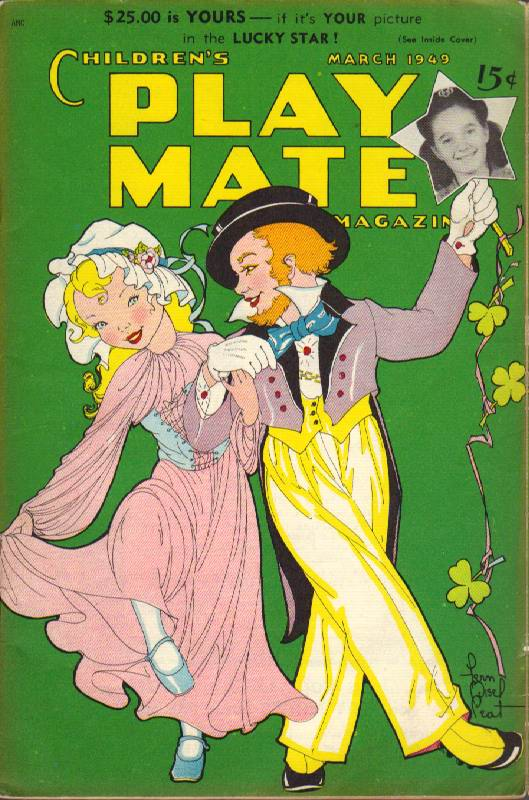 Image for Children's Play Mate Magazine: Vol. 20, No.10 (March 1949)