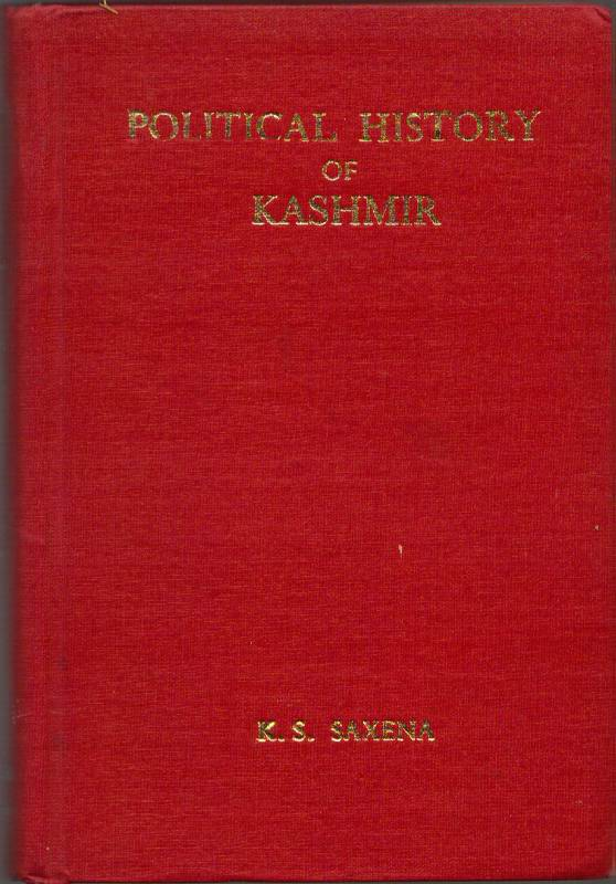 Image for Political History of Kashmir (B.C. 300- A.D. 1200)