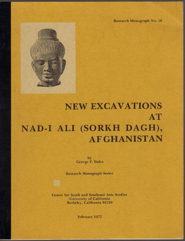 Image for New Excavations at Nad-I Ali (Sorkh Dagh), Afghanistan: Research Monograph No. 16