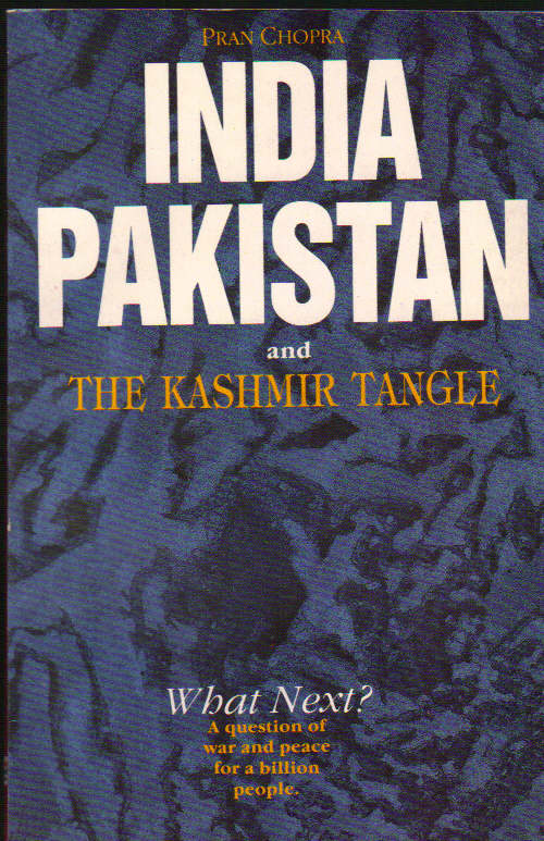 Image for India Pakistan and The Kashmir Tangle