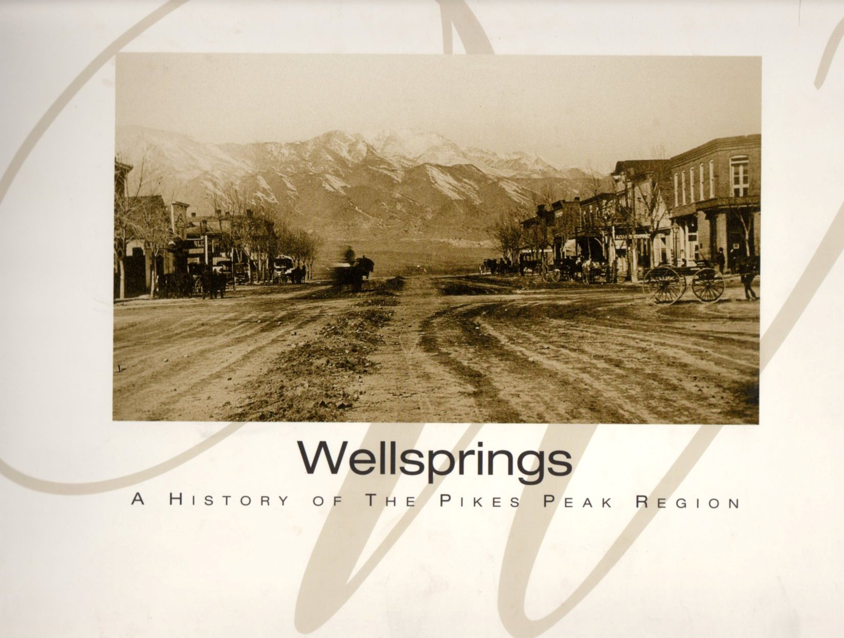Image for Wellsprings: A History of the Pikes Peak Region