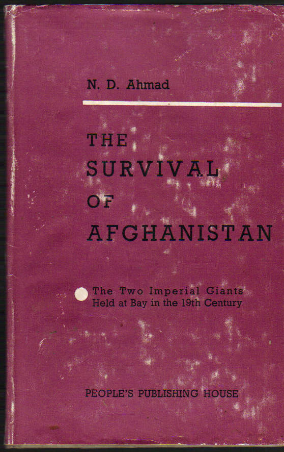 Image for The Survival of Afghanistan; the Two Imperial Giants Held at Bay in the 19th Century