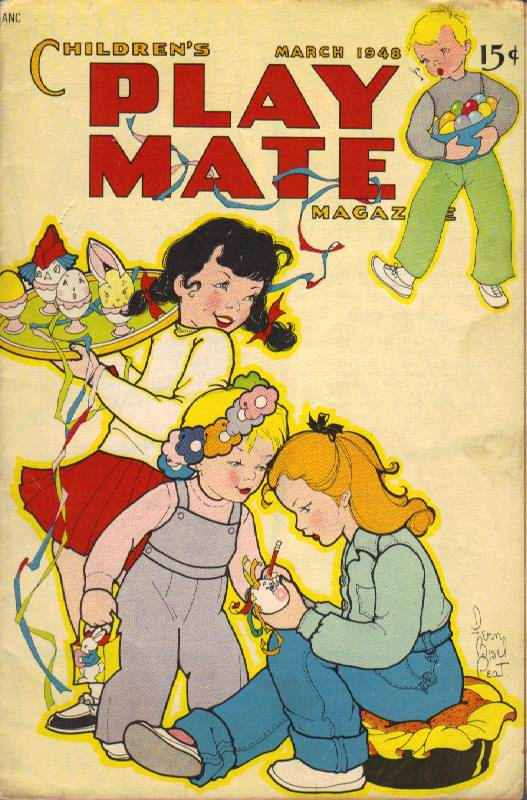 Image for Children's Play Mate Magazine: Vol. 19, No.10 (March 1948)