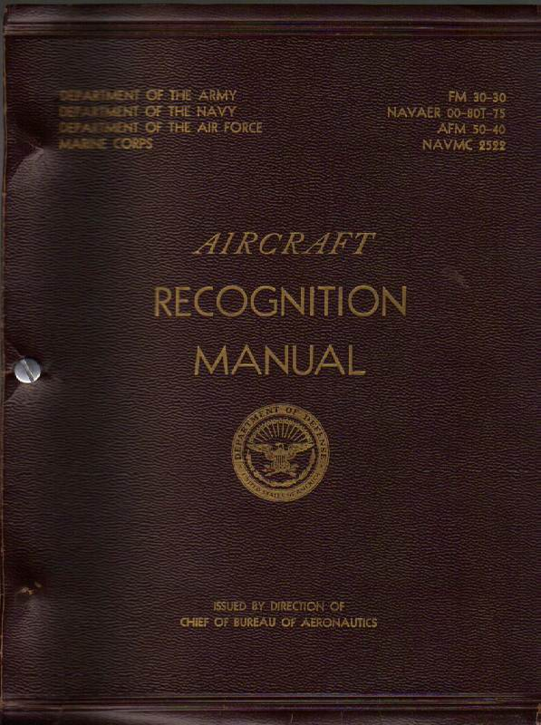 Image for Aircraft Recognition Manual